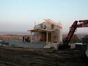 Építkezés