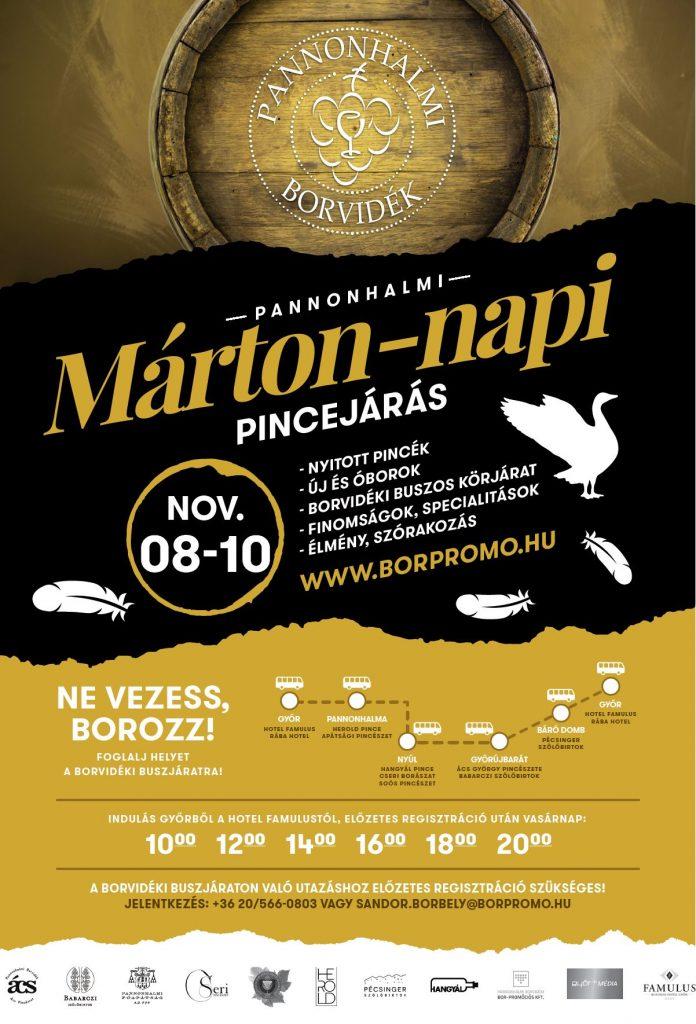2019 Márton napi pincejárás plakát