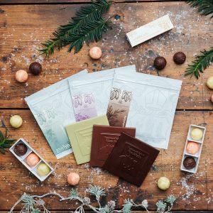 """""""Pannonhalmi csokoládéválogatás"""" ajándékcsomag"""